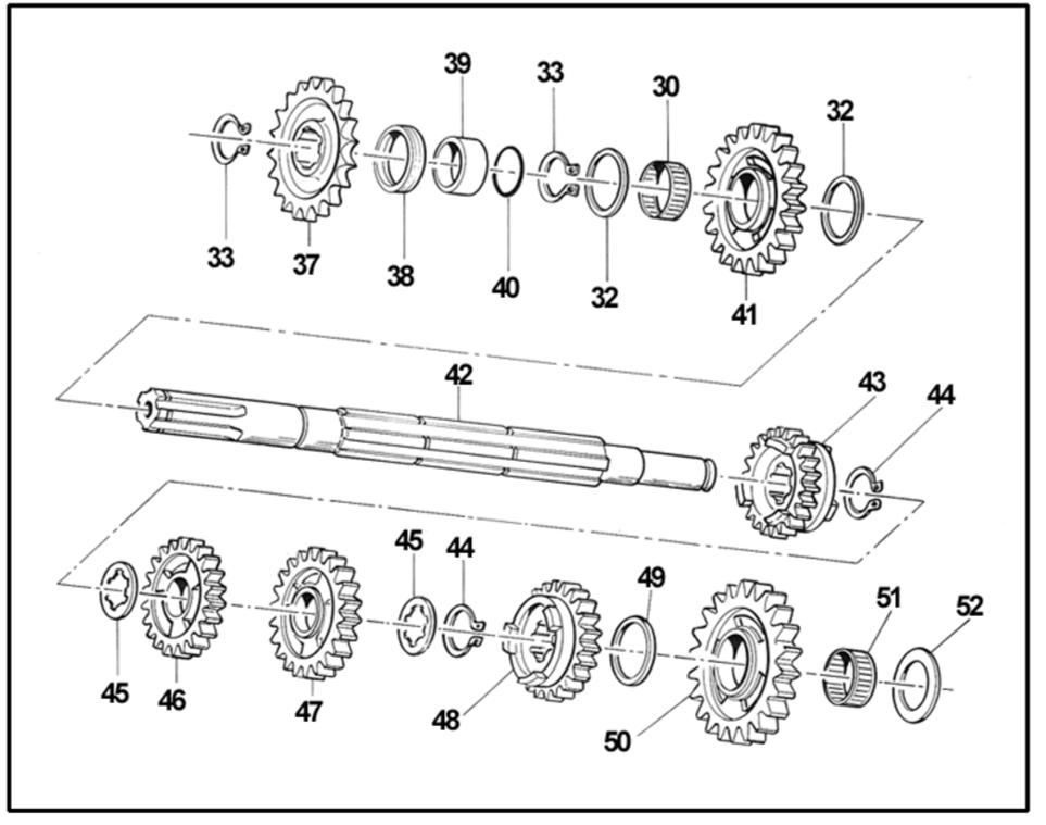 Albero Secondario KZ10