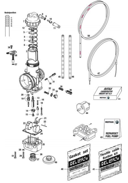 Ricambi Carburatore VHSB 34 XS