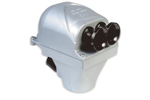 Airbox and inlet silencers for 125cc, KZ